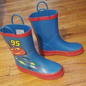 Disney rain boots ,boy's sz 13
